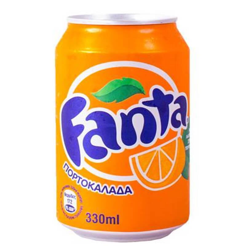 fanta- πορτοκαλάδα -330ml