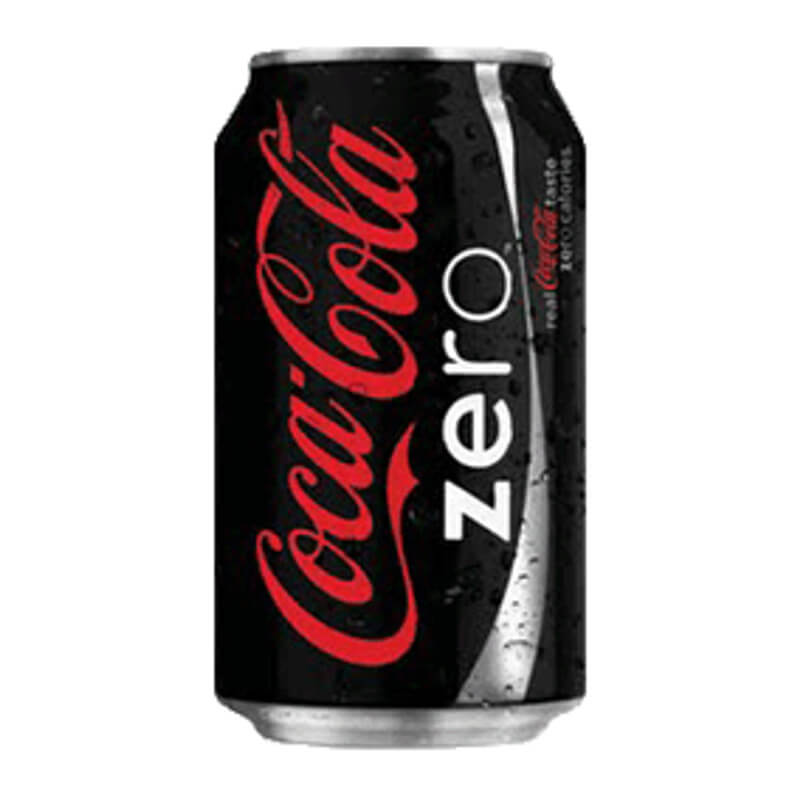 coca cola - zero- 330ml