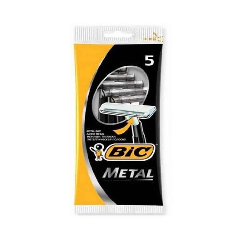 Ξυραφάκια Bic Metal 5τεμ