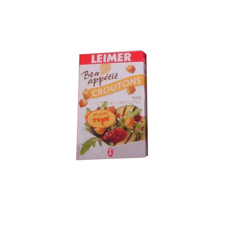 Leimer - Κρουτόν - Γεύση Τυρί - 100γρ
