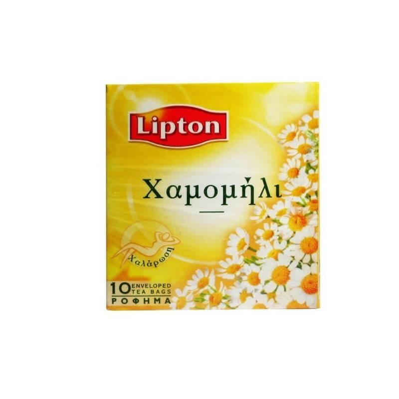 Lipton Τσάι Χαμομήλι Ζεστό Φακελάκι 10τεμ