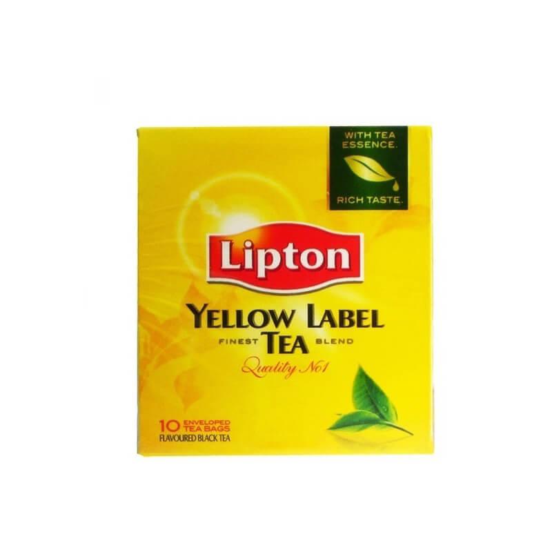 Lipton Μαύρο Τσάι Φακελάκι 10τεμ